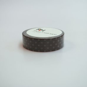 Washi Tape / Brown with Dots