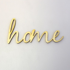 Decorative Wooden Writing Signs / Home