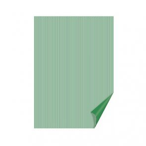 Colored Paper by Heyda / Happy Paper / A4 / Green Stripe
