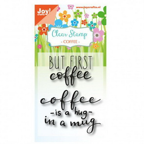 Silicone Stamps Set by Joy! Crafts / Hug in a Mug