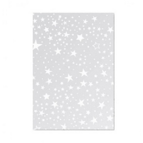 Transparent Paper / A4 / White Stars