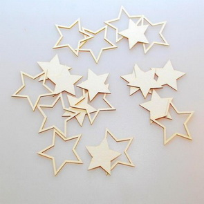 Chipboards Wycinanka / Large stars
