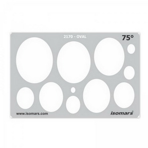 Isomars stencils templates polymer clay nemravka shape template oval 75 2170 pronofoot35fo Images