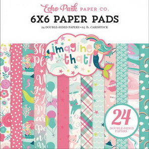 Scrapbooking Paper Pad by Echo Park / Imagine That Girl