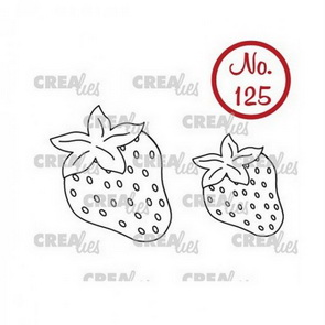 Silicone Stamps by Crealies / Strawberries