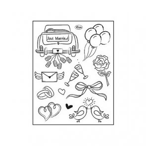 Silicone Stamp by Viva / Just Married