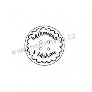 Silicone Stamp by Nemravka / Buttons I.