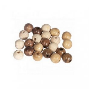 Wooden Beads / Rayher / Natural Mix