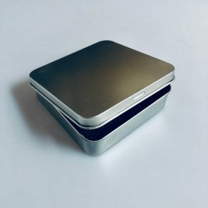 Jewellery metal box III / silver
