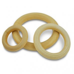 Wooden Rings / Meyco / Set