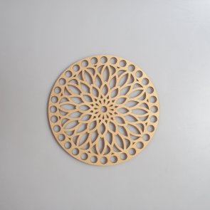 Crochet Basket Lid Base / Ring / 15 cm / Mandala I.