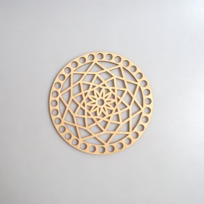Crochet Basket Lid Base / Ring / 15 cm / Mandala II.