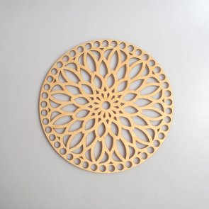 Crochet Basket Lid Base / Ring / 20 cm / Mandala I.