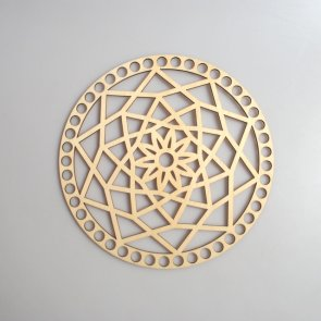 Crochet Basket Lid Base / Ring / 20 cm / Mandala II.