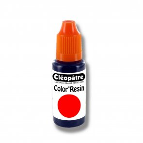 Cléopâtre Color Resin / 15 ml / Red
