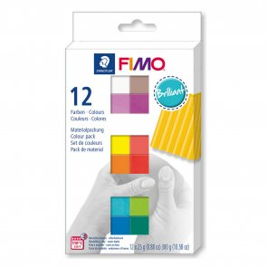 FIMO Soft Brilliant / Set of 12 Colours