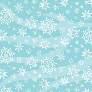 Scrapbooking Paper by American Crafts / Large Snowflakes