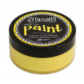 Dylusions Paint / Lemon Zest