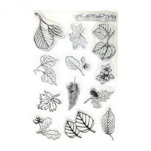 Silicone Stamps / Leaves
