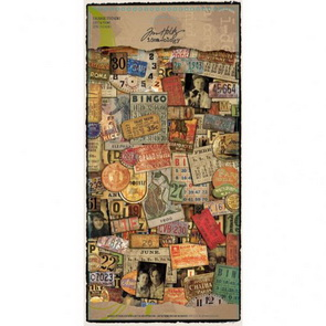 Salvage Stickers by Tim Holtz / Lost and Found