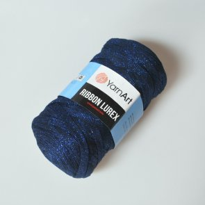 YarnArt Ribbon Lurex / 740 Dark blue
