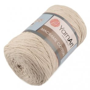 YarnArt Macrame Cotton 250 g / no. 753 Beige