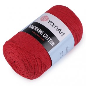 YarnArt Macrame Cotton 250 g / 773 Red