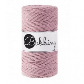Macrame 3PLY Regular / Bobbiny / Old Pink