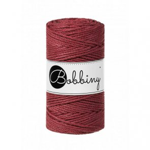 Macrame 3PLY Regular / Bobbiny / Wild Rose