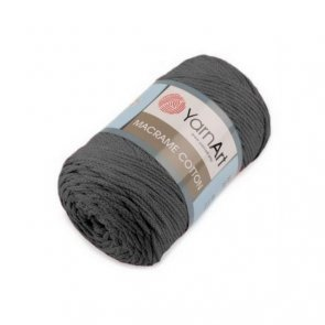YarnArt Macrame Cotton 250 g / 758 Dark Grey