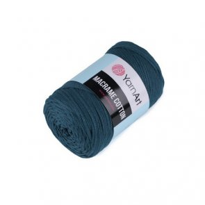 YarnArt Macrame Cotton 250 g / no. 789 Petrol Blue