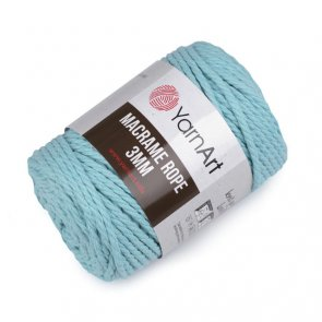 Macrame Rope 3 mm / YarnArt / 775 Mint