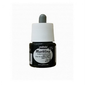 Marbling Paint by Pebeo / 45 ml / Black