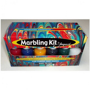 Marbling Paint Set by Jacquard / 6 pc