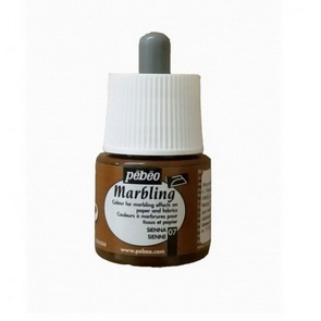 Marbling Paint by Pebeo / 45 ml / Sienna