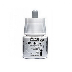 Marbling Paint by Pebeo / 45 ml / White