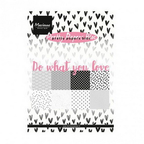 Scrapbooking Paper Pad by Marianne Design / Do What You Love