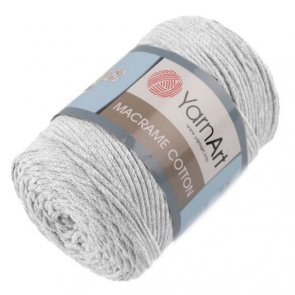 YarnArt Macrame Cotton 250 g / 756 Grey light