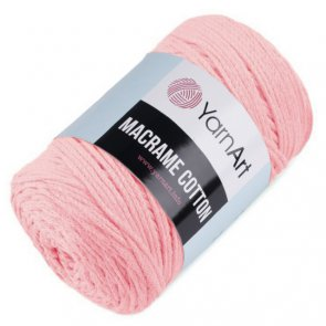 YarnArt Macrame Cotton 250 g / 762 Pink light