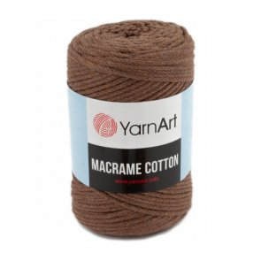 YarnArt Macrame Cotton 250 g / 788 Brown