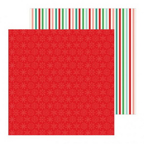 Scrapbooking Paper by Pebbles / Cozy & Bright / Merry & Bright