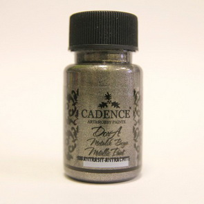 Acrylic Paint Metallic by Cadence / Anthracite