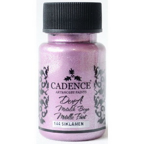 Acrylic Paint Metallic by Cadence / Cyclamen