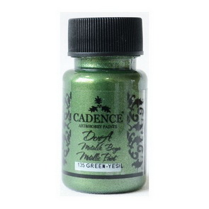 Acrylic Paint Metallic by Cadence / Green