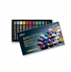Oil Pastel by Mungyo / Metallic / 12 pc