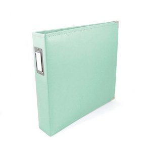 Faux Leather Scrapbooking Album by WRM / 12 x 12 / Mint