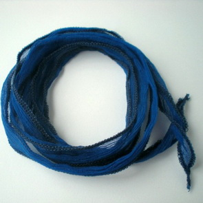 Silk String / Thin / Blue