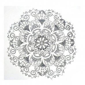 Iron-On Transfer / Mandala
