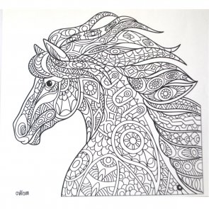 Iron-On Transfer / Horse