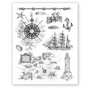Viva Clear Stamps / Sea Motifs
